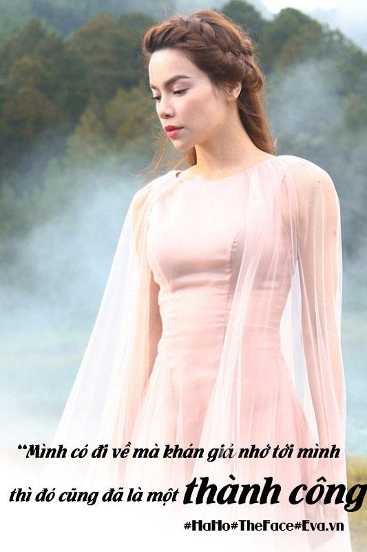 """the face viet nam: 12 cau noi """"nghe den dau tham den day"""" cua ho ngoc ha - 10"""