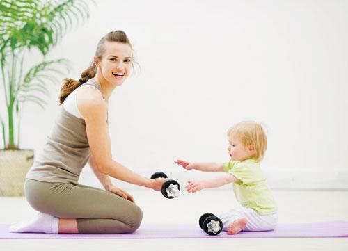 Giảm cân sau khi mang thai cho mẹ bầu