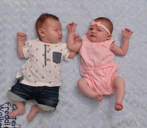 chuyen la: chi em sinh doi sinh con cung ngay - 2