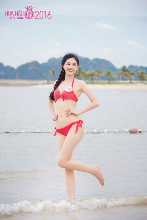 hoa hau viet nam 2016: body goi cam cua thi sinh co vong 3 khung nhat - 2