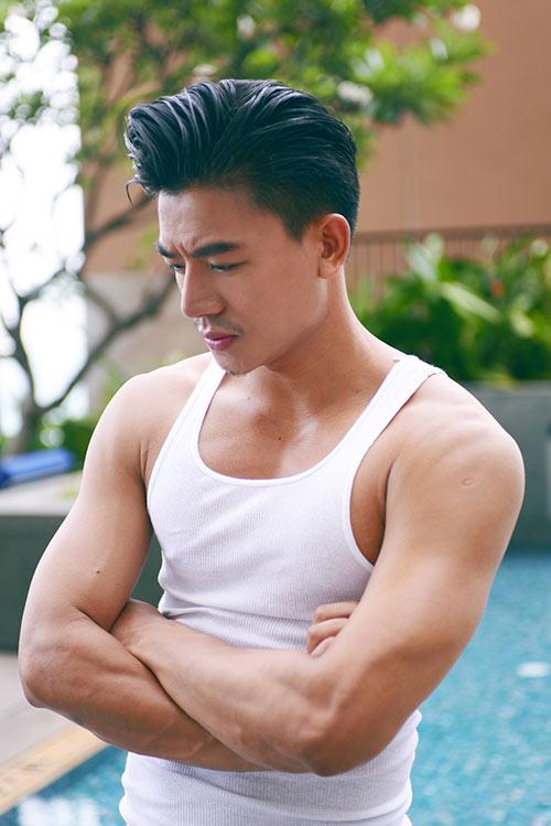 "hieu nguyen manh me, nam tinh ""kho cuong"" voi bung 6 mui - 5"