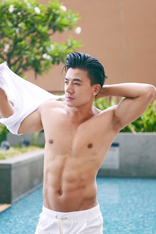 "hieu nguyen manh me, nam tinh ""kho cuong"" voi bung 6 mui - 6"