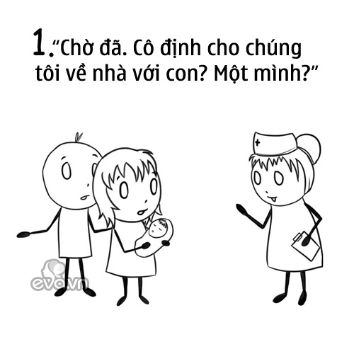 "nhung tinh huong nuoi con 100% chi em tam dac vi ""chuan khong can chinh"" - 1"