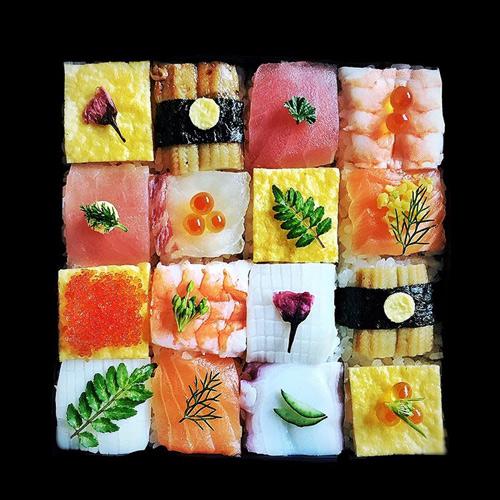 tu sushi mieng, nguoi nhat chuyen sang me man sushi ghep hinh - 4