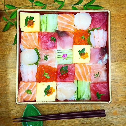 tu sushi mieng, nguoi nhat chuyen sang me man sushi ghep hinh - 7