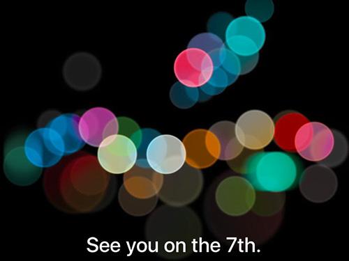 Tin chính thức: iPhone 7 ra mắt ngày 7/9-1