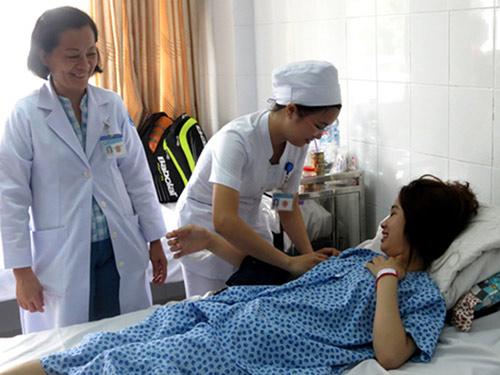 la lung san phu mang thai o... gan - 1