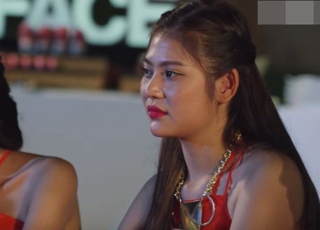 the face viet nam: chung huyen thanh rot nuoc mat khi danh bay dong mo bung - 2