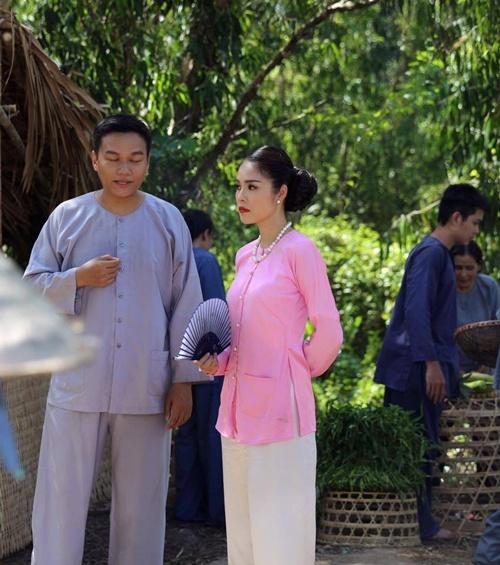 """ai my nhan"": thuy diem doi lot ao, cao mat bo nhi luong the thanh - 5"