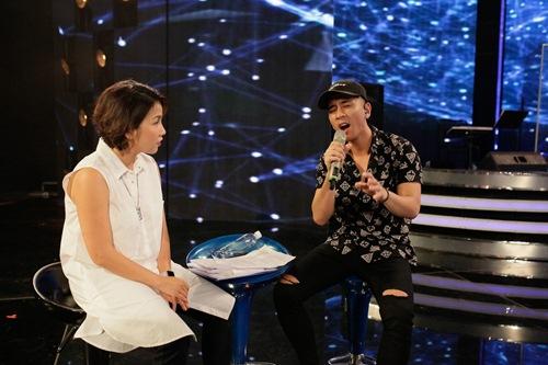 diva my linh xinh dep di day hat cho thi sinh vietnam idol - 14