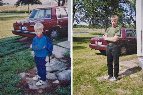 Những bức ảnh khó quên về ngày đầu tiên, ngày cuối cùng đến trường-10
