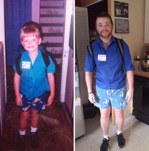 Những bức ảnh khó quên về ngày đầu tiên, ngày cuối cùng đến trường-5