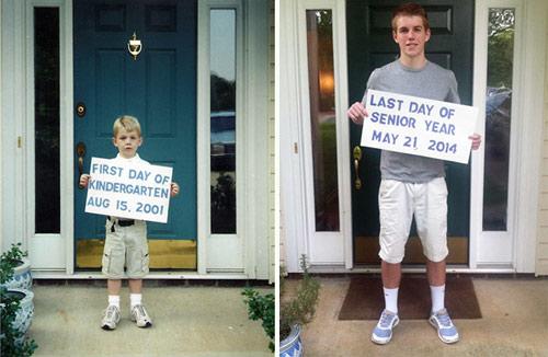 Những bức ảnh khó quên về ngày đầu tiên, ngày cuối cùng đến trường-8