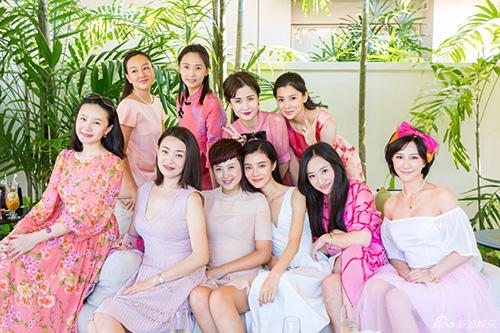 Cô dâu của F4 Chu Hiếu Thiên đẹp như thiên thần trong tiệc độc thân-10