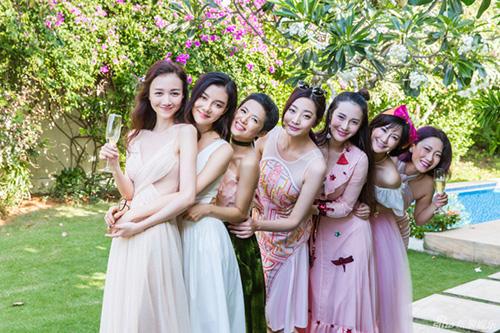 Cô dâu của F4 Chu Hiếu Thiên đẹp như thiên thần trong tiệc độc thân-12