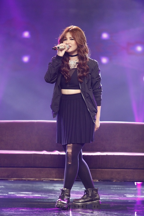 Vietnam Idol: Thu Minh diện váy lộng lẫy, bất ngờ hát tặng khán giả-12