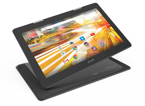 archos 133 oxygen: may tinh bang 13 inch gia re - 1