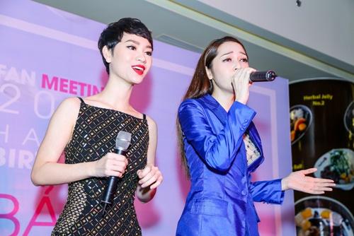 """tra my idol """"tron"""" chong con di chuc mung sinh nhat bao anh - 2"""