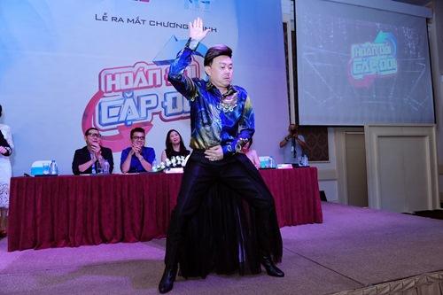 "chi tai ""gay choang"" khi mac vay, di giay cao got nhay tung bung tai su kien - 6"