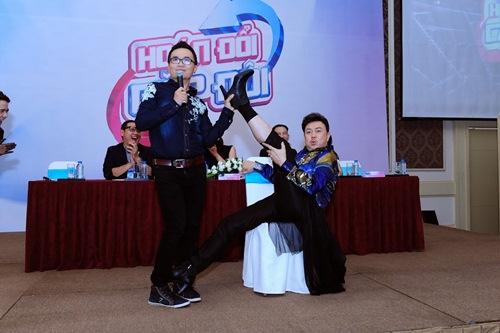 "chi tai ""gay choang"" khi mac vay, di giay cao got nhay tung bung tai su kien - 9"