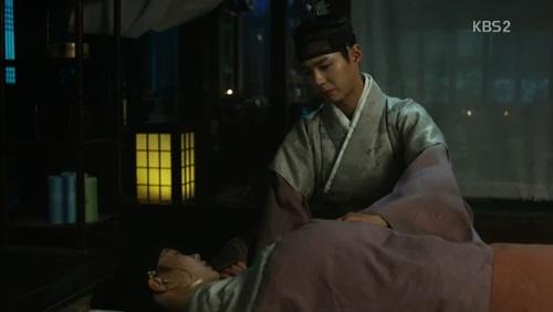 "may hoa anh trang tap 5: xuat hien ""tieu thu bach tuyet"" lan at kim yoo jung - 8"