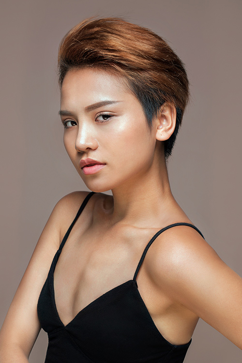 top 9 vietnam's next top model tung anh ban nude tao bao - 2