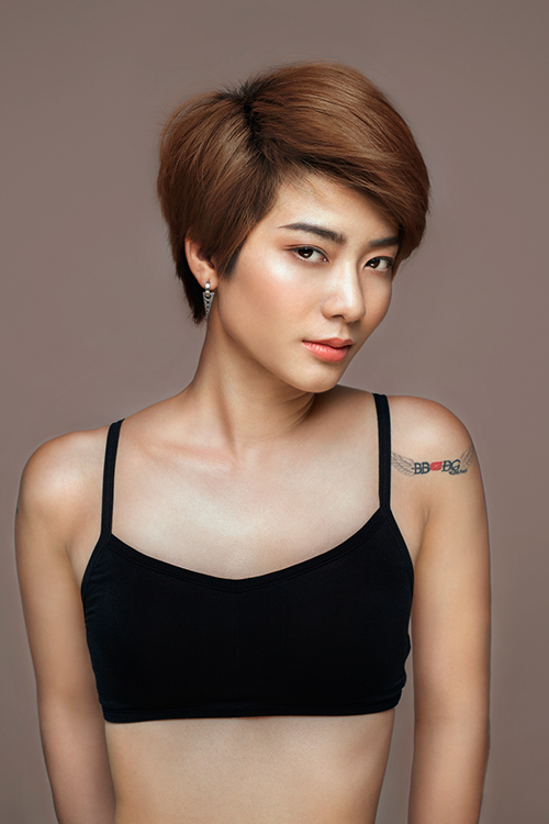 top 9 vietnam's next top model tung anh ban nude tao bao - 7