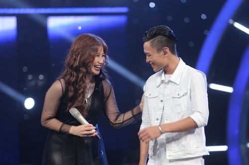 "vietnam idol: bang kieu buon cuoi khi thi sinh mat ""dan"" ra vi co nghiem tuc - 17"