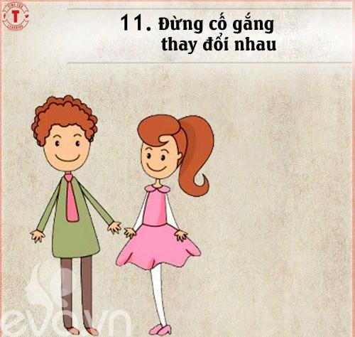 20 bí mật của cặp vợ chồng hạnh phúc-11