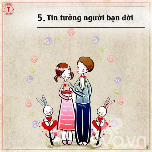 20 bí mật của cặp vợ chồng hạnh phúc-5