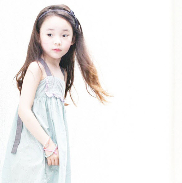 """Đứng tim trước vẻ đẹp trong sáng của """"thiên thần buồn"""" 6 tuổi-9"""