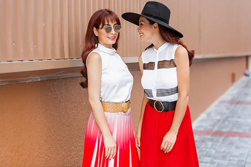 cap song sinh thuy hang - thuy hanh khoe street style tuyet dep - 8