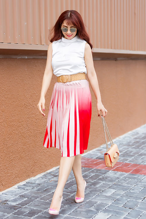 cap song sinh thuy hang - thuy hanh khoe street style tuyet dep - 9