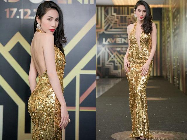 """Chiếc váy khiến các sao Việt như """"lột xác"""" thành nữ thần - 1"""