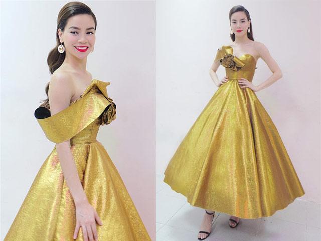 """Chiếc váy khiến các sao Việt như """"lột xác"""" thành nữ thần - 3"""