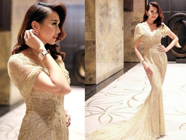 """Chiếc váy khiến các sao Việt như """"lột xác"""" thành nữ thần - 2"""