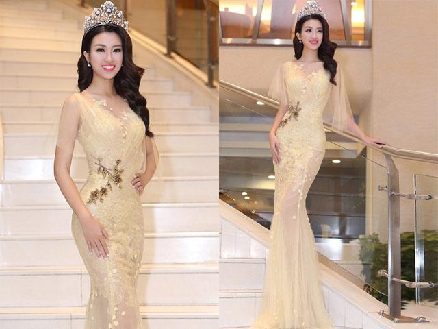 """Chiếc váy khiến các sao Việt như """"lột xác"""" thành nữ thần - 5"""