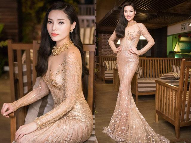 """Chiếc váy khiến các sao Việt như """"lột xác"""" thành nữ thần - 6"""