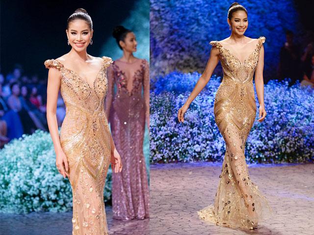 """Chiếc váy khiến các sao Việt như """"lột xác"""" thành nữ thần - 4"""