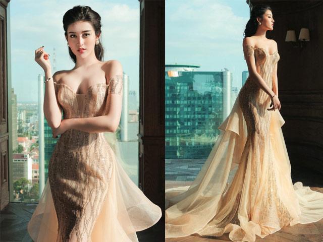 """Chiếc váy khiến các sao Việt như """"lột xác"""" thành nữ thần - 7"""
