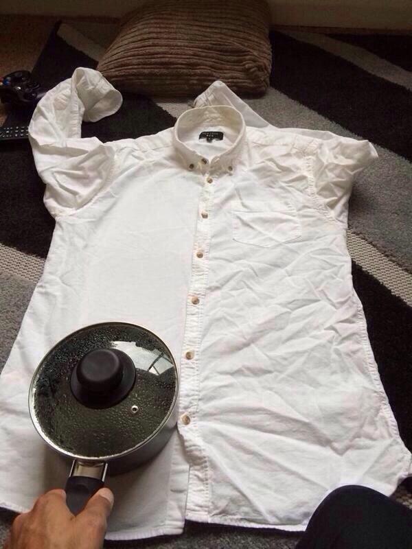 7 cách làm phẳng quần áo phòng khi không có bàn là - 8