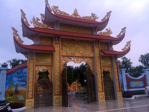 Nhà thờ Tổ nghiệp của Hoài Linh: Từ lúc còn ngổn ngang đến khi hoành tráng-9