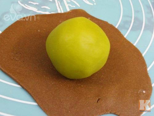 Bánh Trung thu vị sô cô la thơm ngon, ít ngọt-5