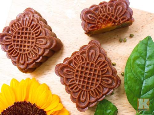 Bánh Trung thu vị sô cô la thơm ngon, ít ngọt-8