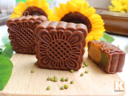 Bánh Trung thu vị sô cô la thơm ngon, ít ngọt-9