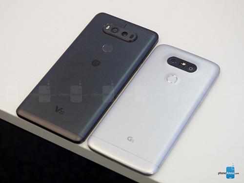 Trên tay LG V20 dùng camera kép 16MP, RAM 4GB-4