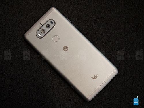 Trên tay LG V20 dùng camera kép 16MP, RAM 4GB-2