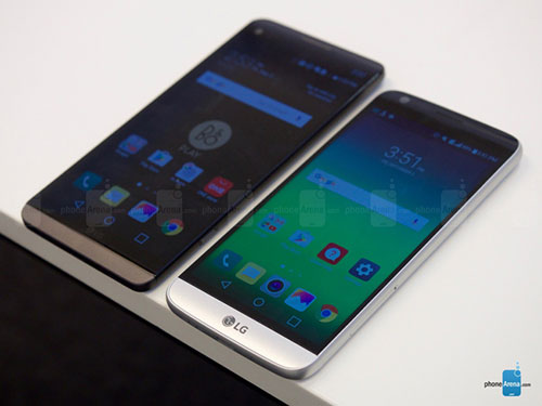 Trên tay LG V20 dùng camera kép 16MP, RAM 4GB-3