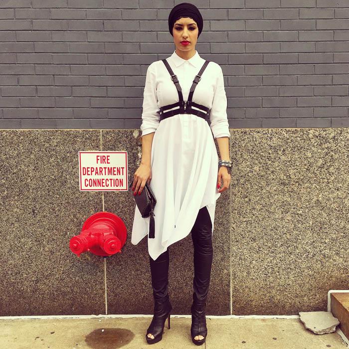 Tuần lễ thời trang New York: Váy áo lập dị thống lĩnh đường phố-10