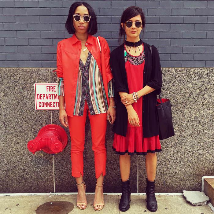 Tuần lễ thời trang New York: Váy áo lập dị thống lĩnh đường phố-7